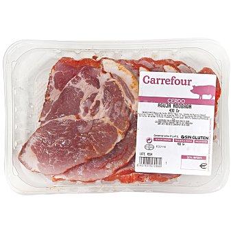 Carrefour Aguja adobada Bandeja de 400 g