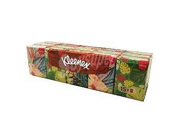 Kleenex Pañuelos de papel mini collection 15 UNI