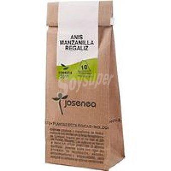 JOSENEA Infusión de anís-manzanilla-regalíz Bolsa 20 g