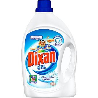DIXAN detergente máquina líquido gel con quitamanchas + anti-cal botella 40 dosis