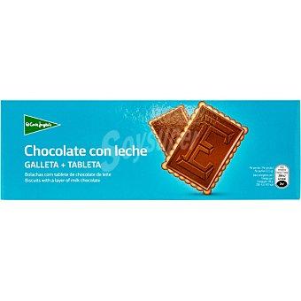 Aliada Galletas con tableta de chocolate con leche Estuche 150 g