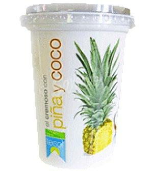 Teisol Yogur con piña y coco 500 g