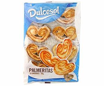 Dulcesol Palmeras 180 g (16 unidades)