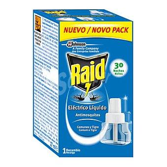 Raid Insecticida Eléctrico Líquido antimosquitos 1 recambio.