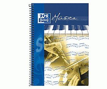 Oxford Cuaderno Música Fº 20 Hojas 1 Unidad