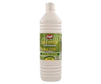Pqs Alcohol de limpieza fragancia limón Botella 1 l