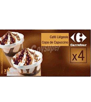 Carrefour Copa helada café Pack de 4x125 ml