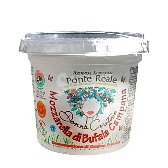 Campana Queso Mozzarela de Bufala Ciuffo Hispano Italiana 250 g Pieza