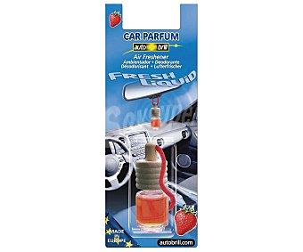 AUTOBRILL Ambientador de Coche para Colgar con Olor a Fresa 75 ml