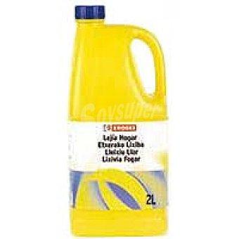 Eroski Lejía hogar perfumada Botella 2 litros