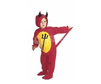 WIDMANN Disfraz infantil Diablo para Halloween, 2-3 años Diablo 2-3 años