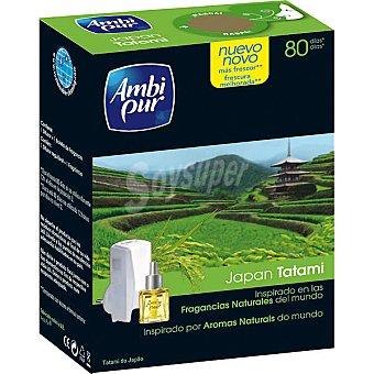 AmbiPur Ambientador eléctrico Japan Tatami aparato + recambio 18 ml
