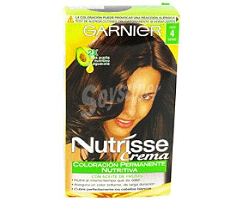 Nutrisse Garnier Tinte Castaño Cacao nº4 1u