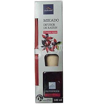 CASACTUAL Mikado Ambientador en varillas aromáticas Frutos rojos 100 ml