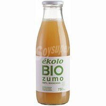 Ékolo Zumo de manzana ecológico sin azúcar Botellín 20 cl