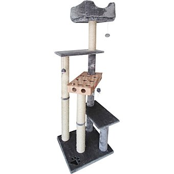 Fred & Rita Rascador para gatos medidas 60x60x162 cm 1 unidad