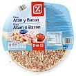 Pizza atún y bacon Envase 400 gr DIA