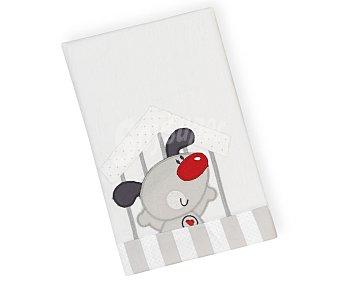 PisPas Tríptico de cuna para bebé, color gris