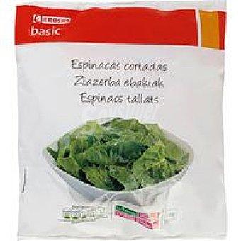 Eroski Basic Espinaca cortada Bolsa 1 kg