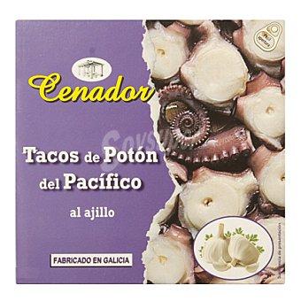 Cenador Tacos de potón al ajillo 160 g