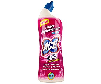 Ace Desinfectante WC gel con lejía perfumada Envase de 700 ml