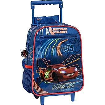 DISNEY mochila preescolar con carro fijo Cars Neon 1 unidad