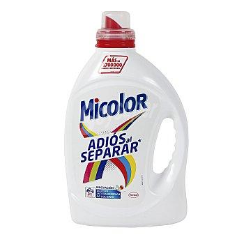 Micolor Detergente máquina en gel Adiós al Separar 31 dosis