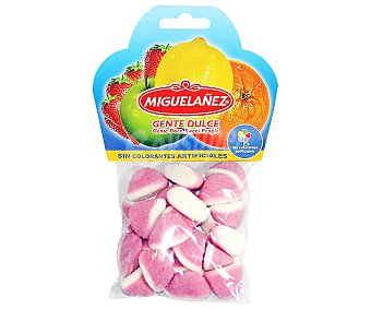 Miguelañez Gominolas blandas besos sabor a fresa Bolsa 150 g