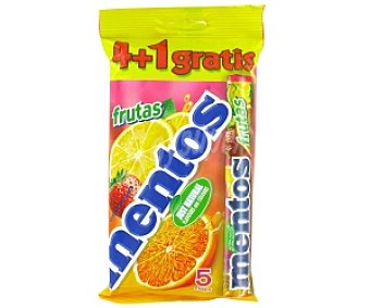 Mentos Caramelos 4 frutas 152 Gramos