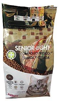 Compy Comida gato croqueta light senior control linea pollo arroz Paquete de 800 g