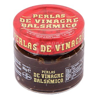 SHIKRÁN Perlas de vinagre balsámico 80 g