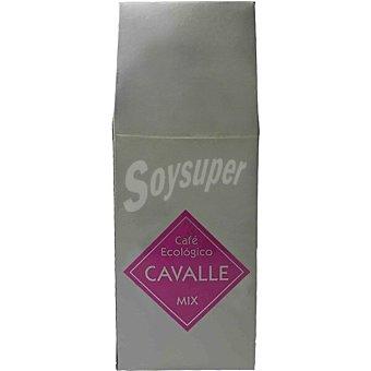 Cavalle Café molido mezcla ecólogico Paquete 250 g