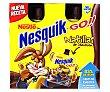 Natillas de chocolate para llevar Pack 4 uds x 80g Nesquik Nestlé