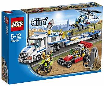 LEGO Juego de Construcción City Police, Helicóptero de Transporte, Modelo 60049 1 Unidad