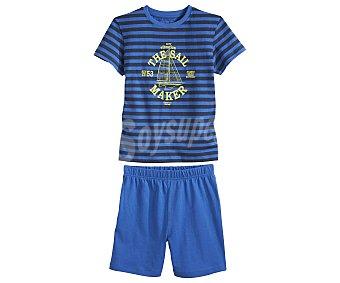 In Extenso Pijama corto para niño, color marino, talla 2