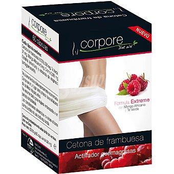 Corpore diet Cetona de frambuesas activador quemagrasas ápsulas envase 41,5 g 60 c