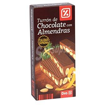 DIA Turrón chocolate con almendras Estuche 300 grs