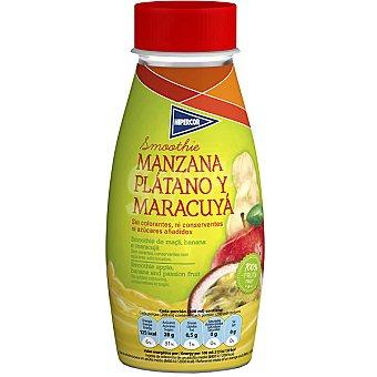 Hipercor Smoothie de manzana, plátano y maracuyá Envase 250 ml