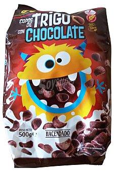 Hacendado Cereal copos trigo chocolate Bolsa 500 g