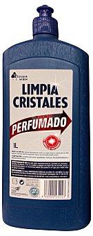 BOSQUE VERDE Limpiacristales perfumado Botella de 1 L