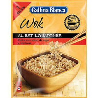 Gallina Blanca Wok japonés Sobre 90 g