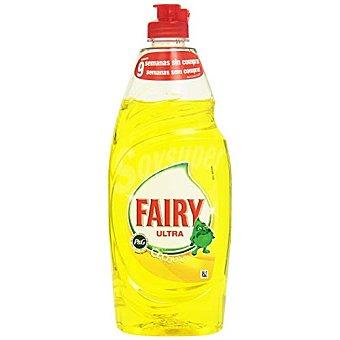 Fairy Lavavajillas mano limón Botella 615 ml