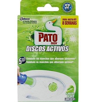 Pato Limpia wc discos 6 discos