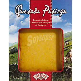 Serafina Quesada cuadrada paquete 420 g Paquete 420 g