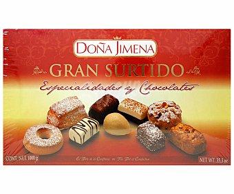 Doña Jimena Surtido de dulces navideños 1000 gramos