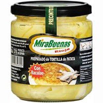 MIRABUENAS Preparado de patata con bacalao Tarro 340 g