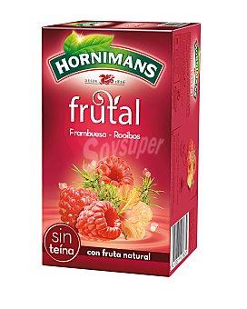 Hornimans Infusión frutal de frambuesa Rooibos 20 ud