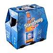 Cerveza rubia sin alcohol Botellin pack 6 x 250 cc - 1500 cc Steinburg