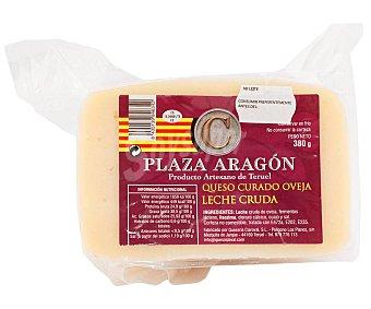 Plaza Queso curado oveja leche cruda Aragón 380 g