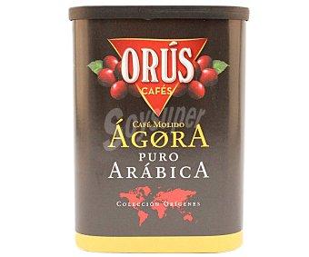 Orús Café molido tueste natural puro Arábica Lata 250 g